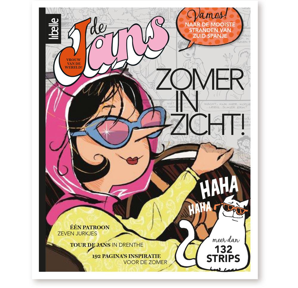Cover Libelle Zomerboek de Jans