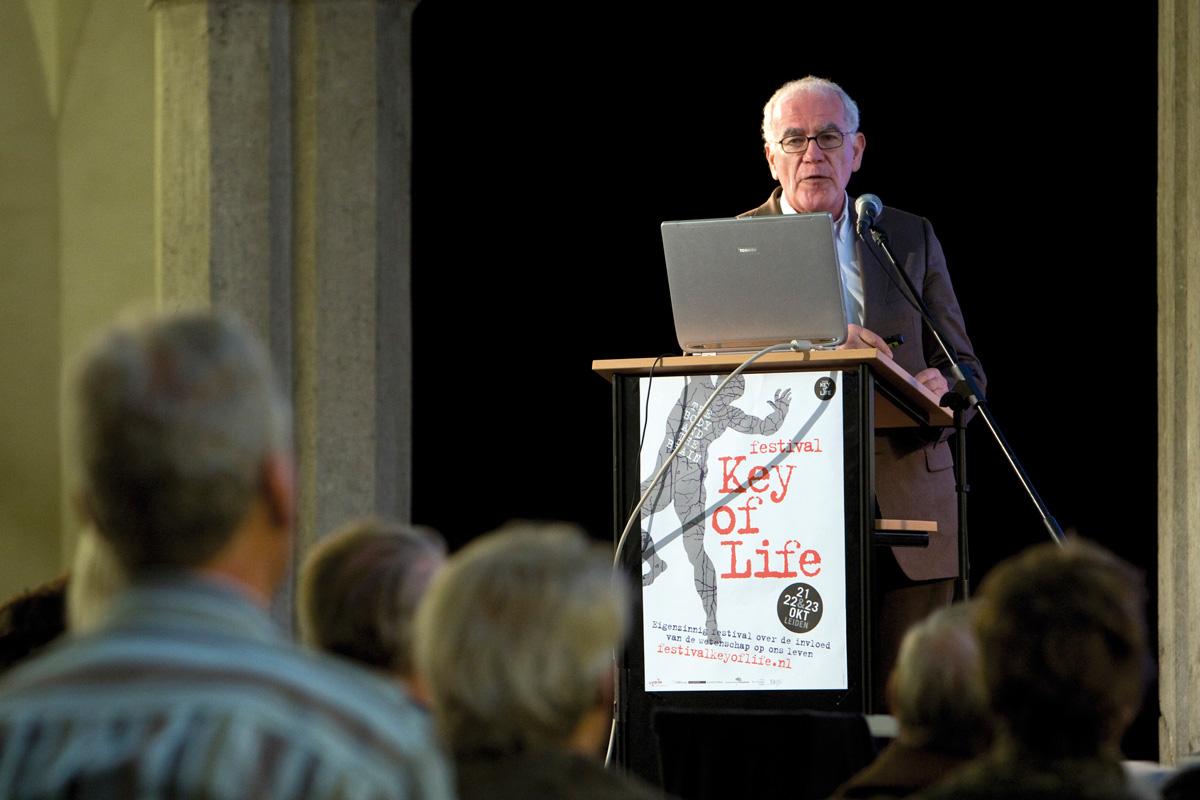 Theater of Talks Prof. Dick Swaab (foto: Luca di Tommaso)