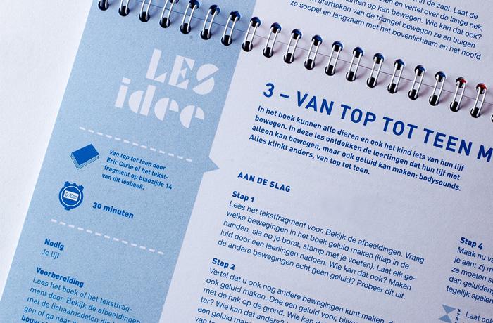 Typografie binnenwerk Lesboek