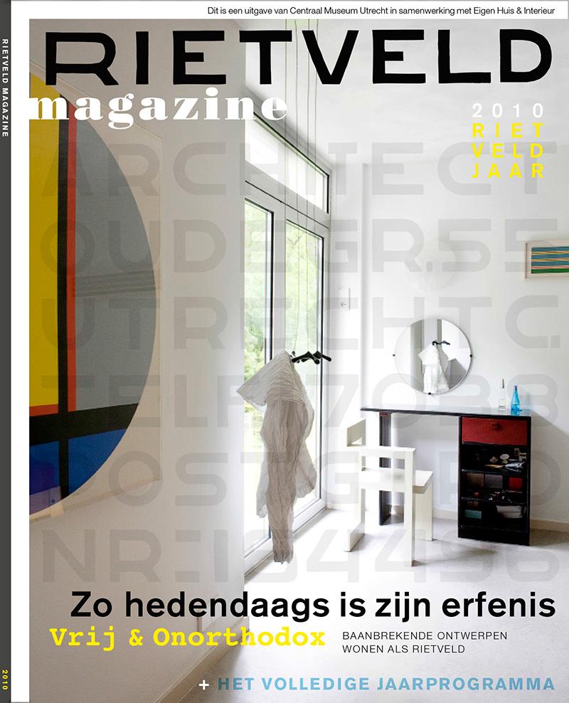Cover Rietveld magazine