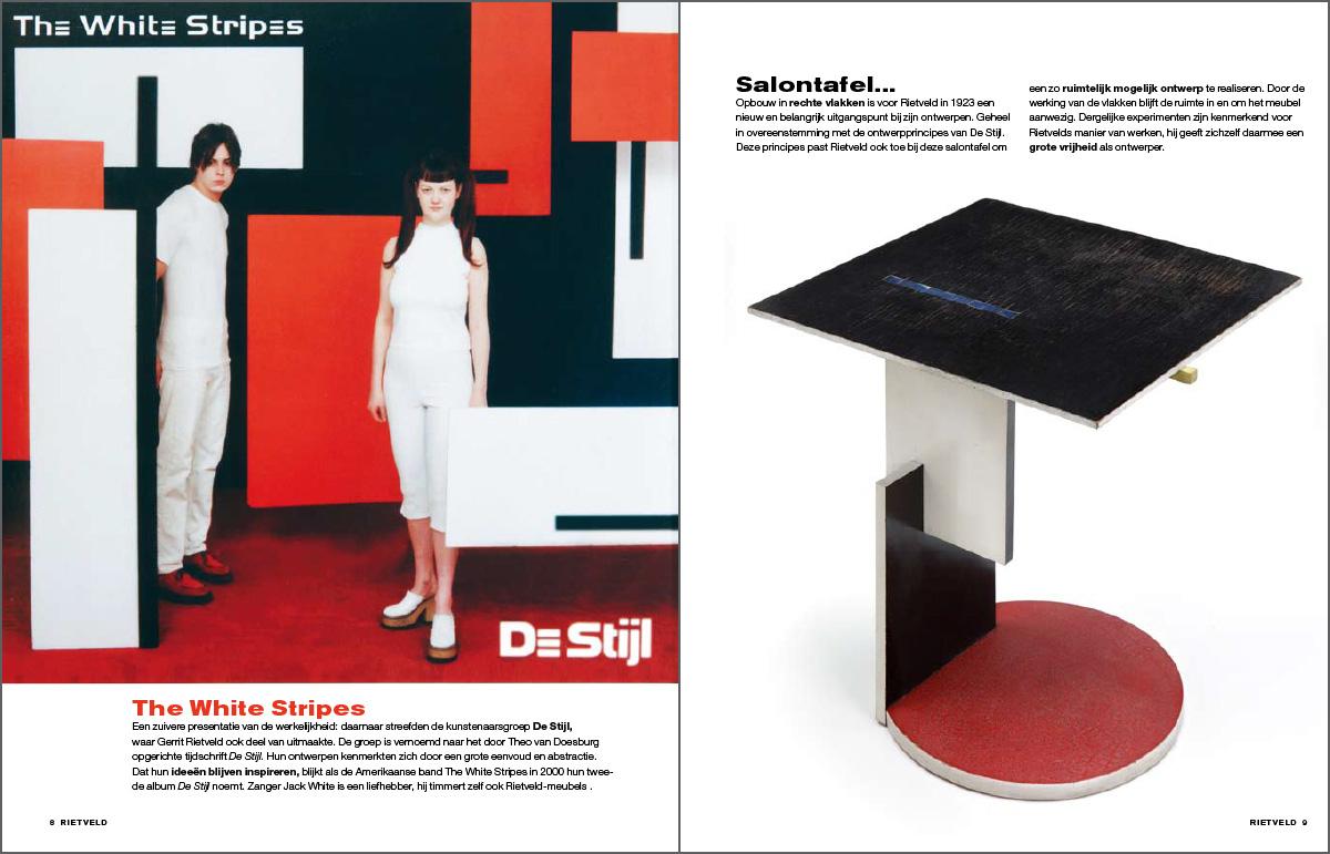 Rietveld magazine, Beeldverhaal De Stijl