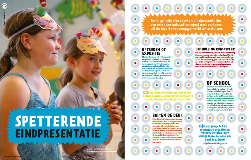 Vormgeving magazine De Ontdekking