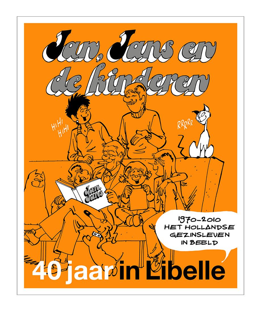 Cover Jan, Jans en de kinderen 40 jaar in Libelle