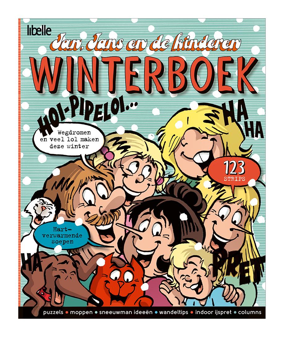 Cover Jan Jans en de kinderen Winterboek 2016