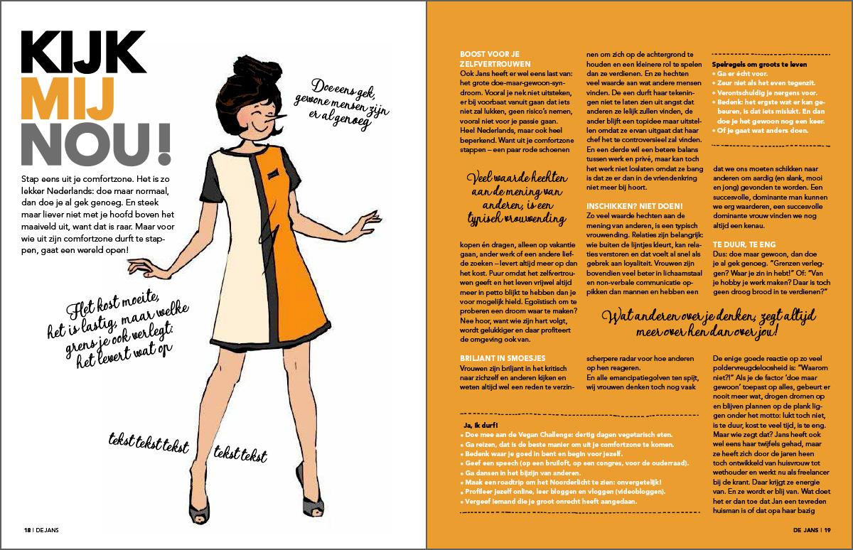 Libelle Zomerboek de Jans Binnenwerk