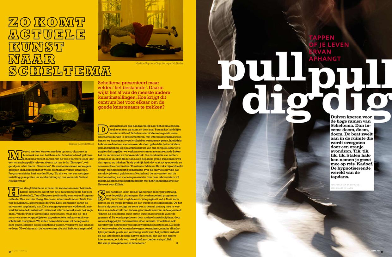 Scheltema magazine, Tapdansen met Tafel 9.