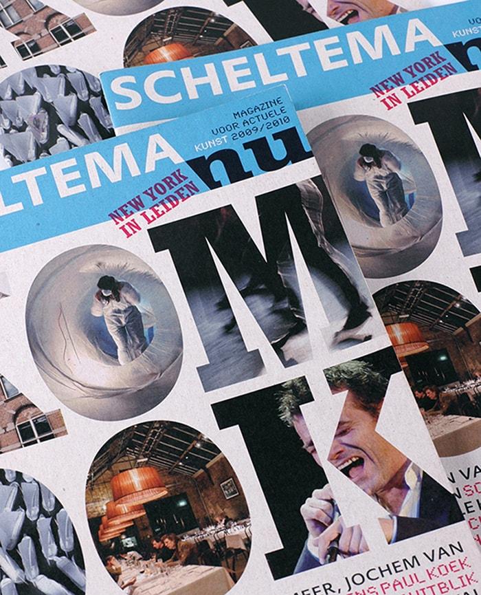 Cover Scheltema magazine