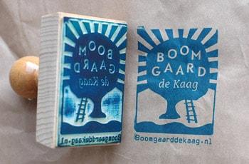 Stempel Boomgaard de Kaag