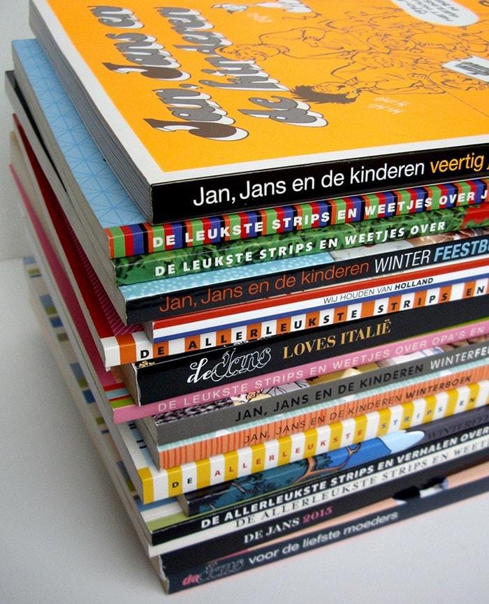 Jan Jans en de kinderen Thema boeken