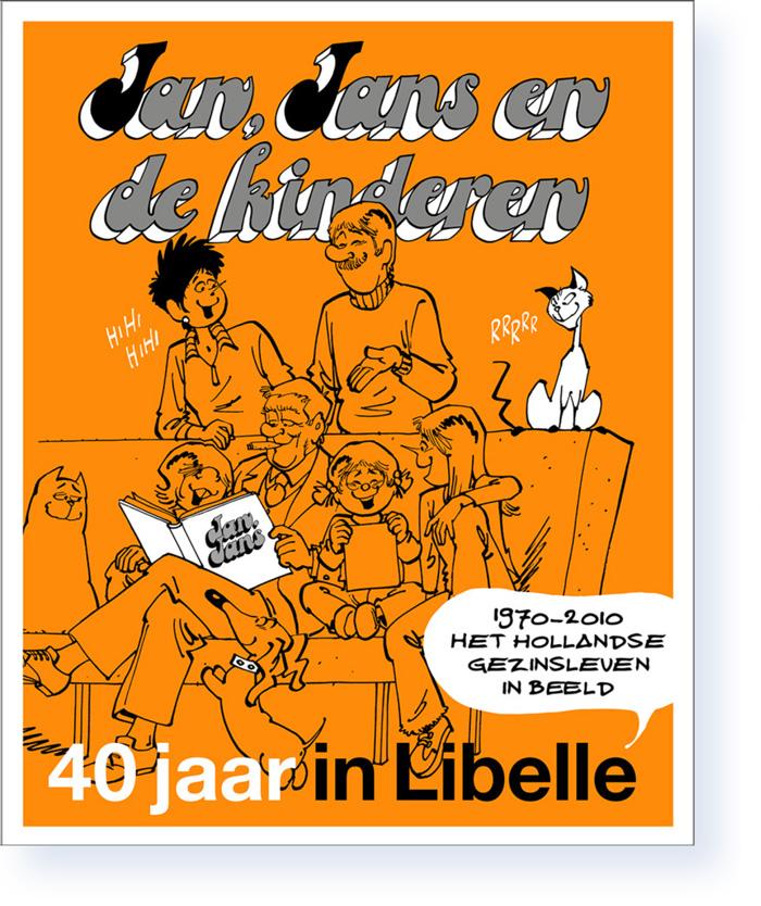 Jan, Jans en de kinderen 40 jaar in Libelle